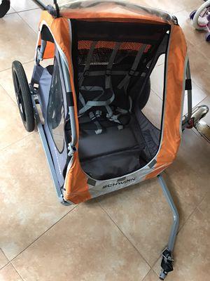 Schwinn Shuttle Foldable Bike Trailer (2 passenger) for Sale in Delray Beach, FL