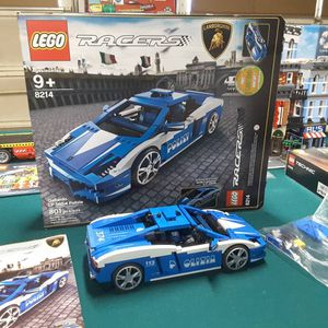Lego 8214 police Lamborghini complete with everything for Sale in Lakewood, CO