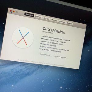 Macbook Pro Late 2008 (13-inch) for Sale in Dallas, TX