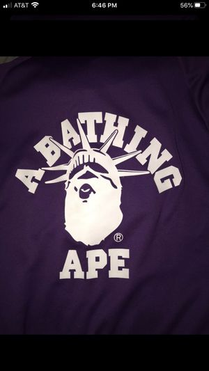 Bape nyc exclusive full zip up hoodie for Sale in Sacramento, CA