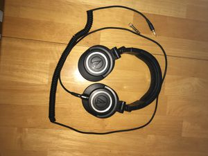 Audio Technica ATH-M50x Pro Studio DJ headphones for Sale in Hollywood, FL
