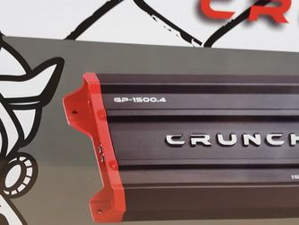 CRUNCH 1500 Watts 4 Channel Built In Crossover Car Amplifier for Sale in Bell Gardens,  CA