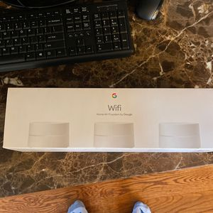 Google Wifi - Mesh Wifi System - Wifi Router Replacement - 3 Pack for Sale in Summerfield, NC