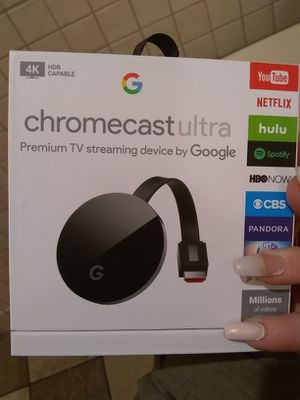 Chromecast ultra for Sale in Dublin, OH