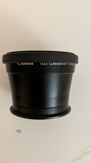Cannon tele converter tc-dc58n 1.75x for Sale in Seattle, WA