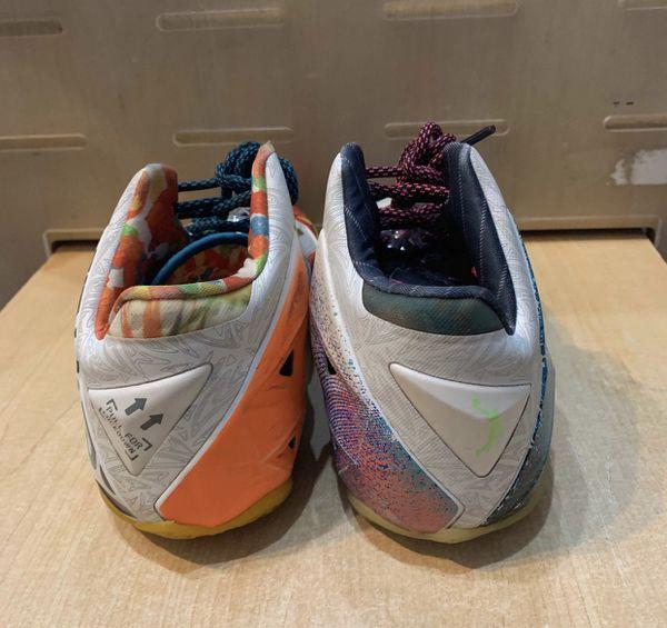 Nike Lebron 11 Premium What The Size 9
