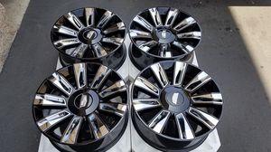 """22"""" Escalade OEM Cadillac Black Edition Wheels Rims Original for Sale in Los Angeles, CA"""