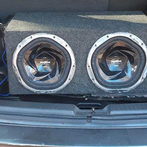 "Sony Xplod 1300W 12"" Subwoofer And JENSEN Octane Power Amplifier for Sale in Gloucester, VA"