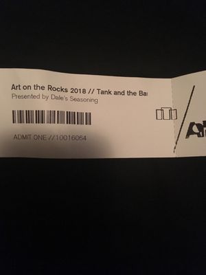 Art on the rocks ticket for Sale in Vestavia Hills, AL