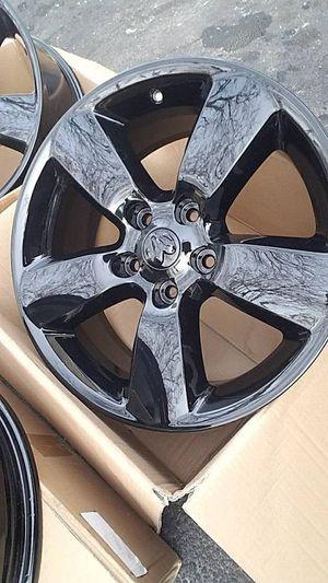"20"" Dodge Ram 1500 black stock wheels rims BRAND NEW! for Sale in Bolingbrook, IL"