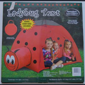 Kids Ladybug play tent for Sale in Moreno Valley, CA