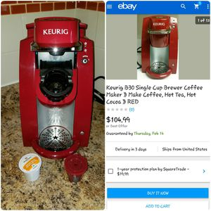 FOR SALE: KEURIG B30 Coffee / Tea / Hot Cocoa Maker for Sale in Columbus, OH