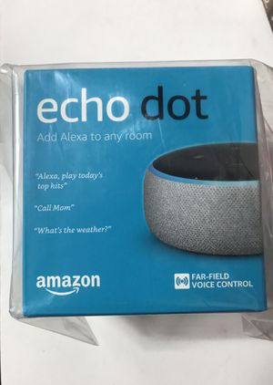 Amazon echo dot / fire tv with Alexa voice remote 30 or 50 for both for Sale in Riverside, CA