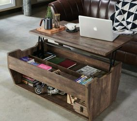 Rustic Lift-top Coffee Table in Reclaimed Oak for Sale in West Covina,  CA