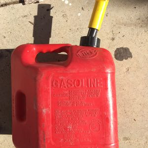 Gasoline Container - 2 Gallons for Sale in Salinas, CA