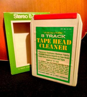 Vintage 8 track tape head cleaner for Sale in Creve Coeur, IL