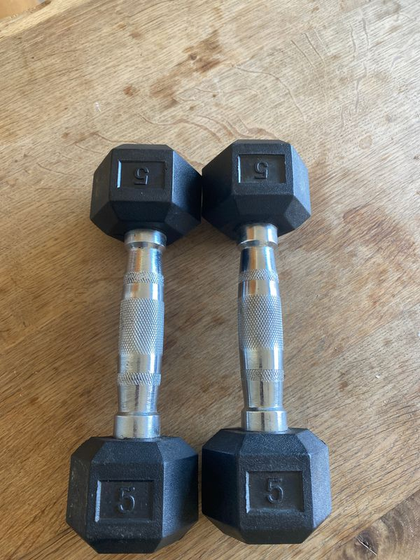 5lbs dumbbells pair (FREE)