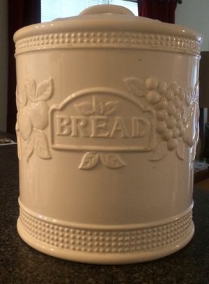 Large Ceramic Bread Canister for Sale in Fairfax, VA