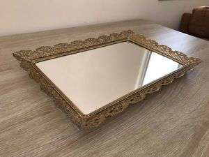 Vintage Mirror Tray ( price negotiable ) for Sale in Raleigh, NC
