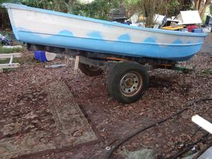 12ft aluminum row boat for Sale in Mulberry, FL