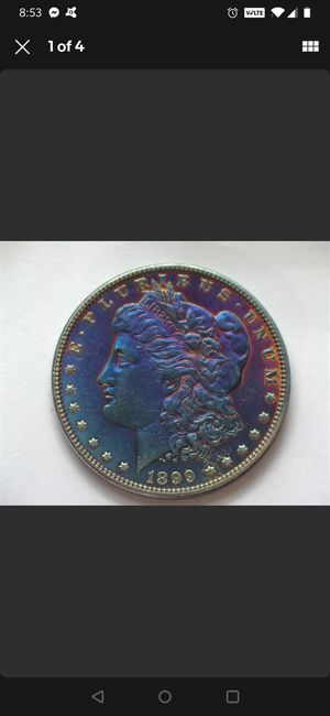UNCIRCULATED 1899 P Morgan Silver Dollar. Better date. for Sale in Whittier, CA
