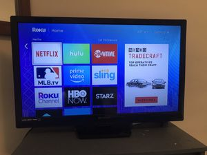 Roku with Showtime Netflix Hulu and MLB.tv for Sale in Cadillac, MI