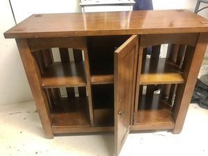 Entertainment center - tv stand - table - storage for Sale in Laveen Village, AZ