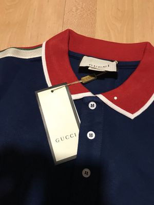 Brand new Gucci polo piquet T-shirt for Sale in Bailey's Crossroads, VA