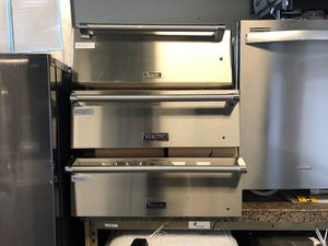 stainless steel warming drawer VIKING and THERMADOR/free delivery for Sale in Phoenix, AZ