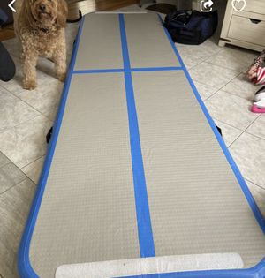 blue gymnastics air tumbling track for Sale in Saugus, MA