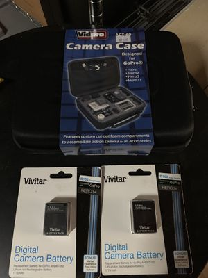 GoPro hero 3 and 3+ case for Sale in Portland, OR