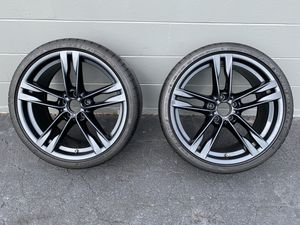 2012 BMW 650i OE stock wheels rims Dunlop tires for Sale in Tampa, FL