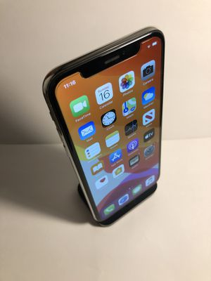 iPhone X 256gb Silver (Factory Unlocked) Excellent Condition for Sale in Oakland, CA