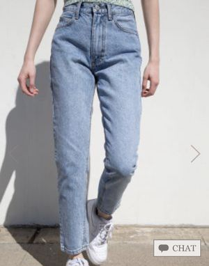Brandy Melville Jane Light Wash Jeans for Sale in West Covina, CA