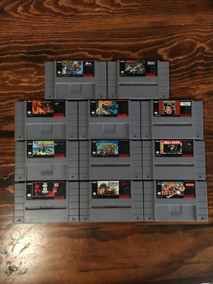 Super Nintendo games for Sale in West Lake Stevens, WA