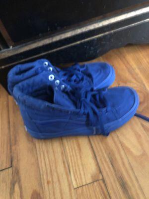 Blue vans for Sale in Madison Heights, VA
