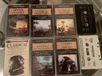 FREE - Classical Music - Cassette Tapes for Sale in Cleveland,  OH