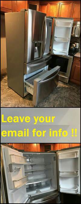 Leαve your emαil for more info: LG LMXC23746S French Door Refrigerator for Sale in Billings, MT