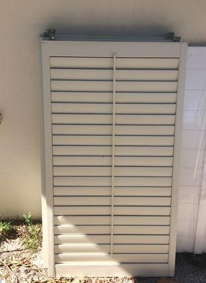 Vinyl window covers/shades for Sale in West Palm Beach, FL