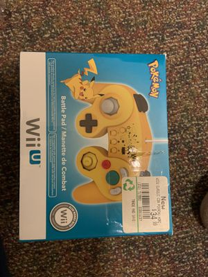 Pikachu Hori Wii U controller for Sale in Hampton, VA