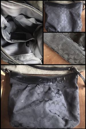 Black Coach Purse for Sale in Cleveland, OH
