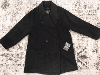 Authentic Burberry 100% Wool Pea coat for Sale in Portland,  OR