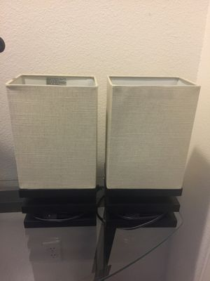Lamps- Set of two for Sale in Rancho Cucamonga, CA