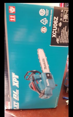 MAKITA 18V CORDLESS CHAINSAW TOOL ONLY BRAND NEW for Sale in San Bernardino, CA