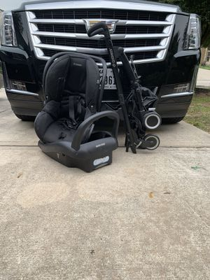 car seat, base, stroller.. maxi cosi for Sale in Houston, TX