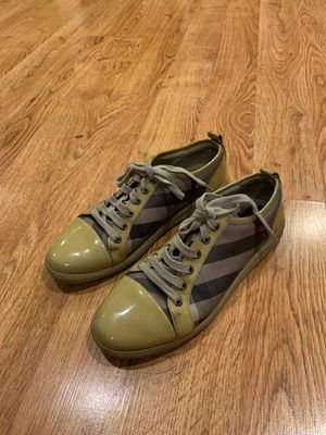 Burberry Women Check Canvas Sneaker for Sale in Los Angeles, CA