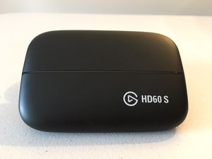 Elgato HD60 S Capture Card w/ Party Chat Adapter Cable for Sale in Kent, OH