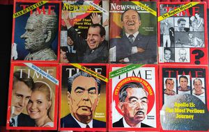 Vintage Time Magazines, Newsweek Magazines for Sale in Raleigh, NC