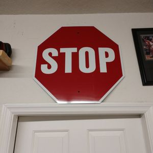 Real Stop Sign for Sale in Tampa, FL