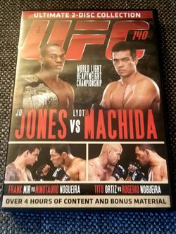 UFC 140 DVD Jon Jones vs Lyoto Machida; Frank Mir Minotauro Nogueira; Tito Ortiz Rogerio Nogueria for Sale in Los Angeles,  CA